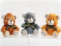 "5.5"" TAB BEAR WITH BOW (3)"