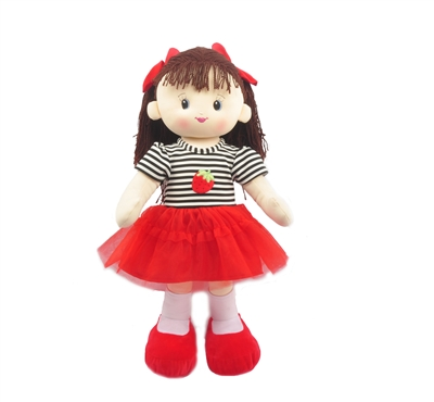 "28"" RED HAZEL DOLL (1) <b class='icon-new-product'></b>"