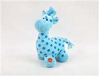 "12"" BLUE PATTY CAKE GIRAFFE WITH MOVING NECK AND SOUND(1)"