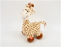 "12"" BROWN PATTY CAKE GIRAFFE WITH MOVING NECK AND SOUND(1)"