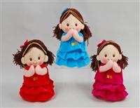 "10"" HANNA PRAYER  DOLL ANGEL DE LA GUARDA SOUND (3)"