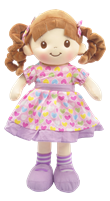 "16""  PURPLE AVERY DOLL<b class='icon-new-product'></b>"