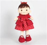 "16"" RED DOTTIE DOLL (1) <b class='icon-new-product'></b>"