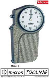 Saw Setting Dial Gauge Model B with pointed contact point