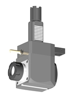 VDI 40, Angular Tool Holder, Haas Coupling, No Internal Cooling, Inverted Rotation Direction - 80/104.85, ER32