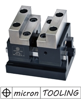 Self-centering Mechanical Precision Vise for CNC Milling Machines