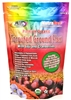 Golden organic sprouted flax seed powder with Goji Berries and Cranberries