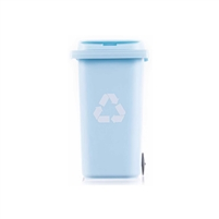 Miniature Trash Can Pencil Holder