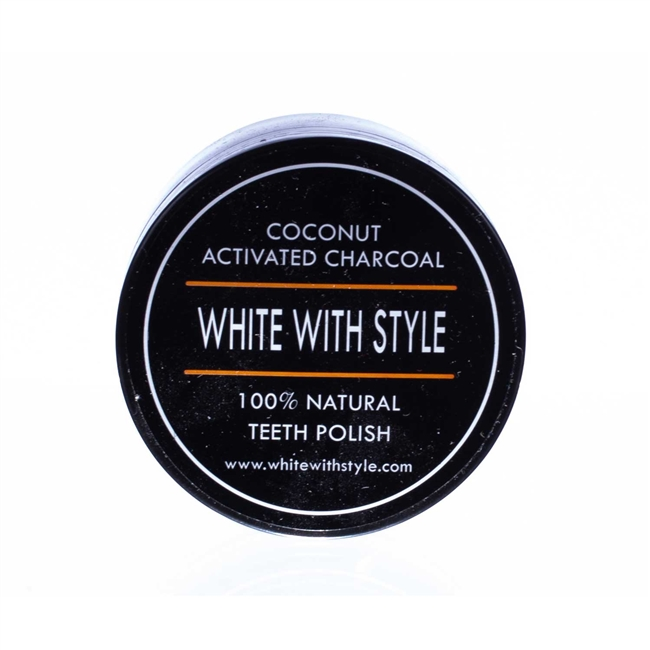 Coconut Activated Charcoal Teeth Whitener Polisher