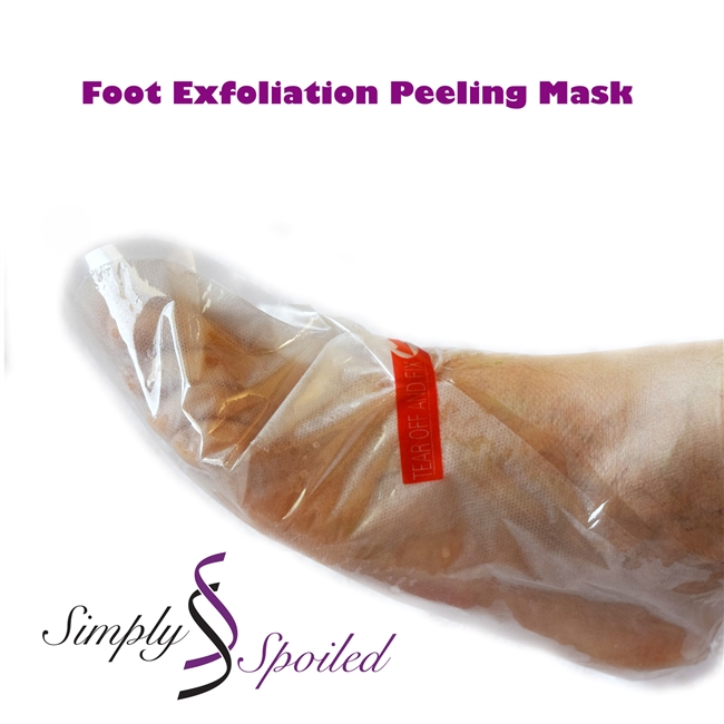 Foot Exfoliation Peeling Mask