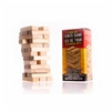 Tumbling Tower Game 36 Miniature Wooden Blocks