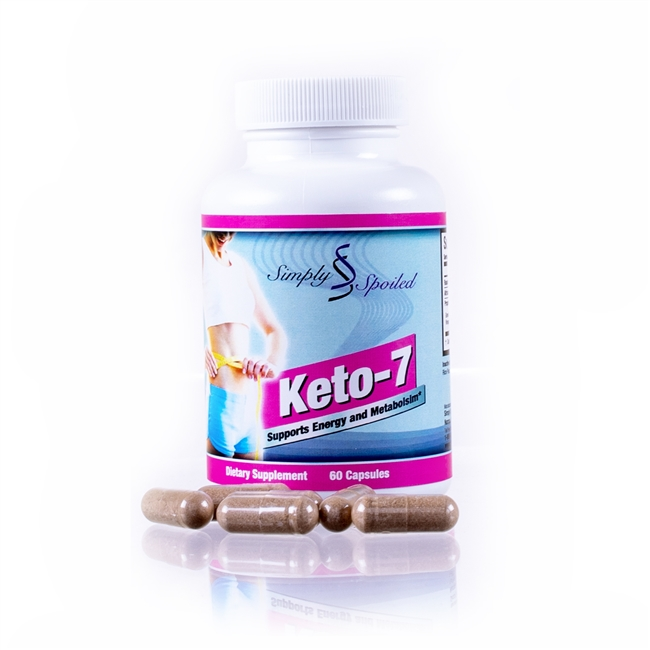Simply Spoiled Keto-7 Supports Energy and Metabolism