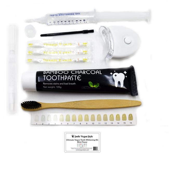 Smile Vegan Style Ultimate Vegan Whitening Kit with Pen