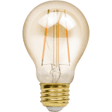 Edison Style Filament Bulb 6.5w 2200K A19 Dimmable