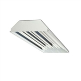 Howard HFC1E832AHEMV000000I 8-Lamp T8 Flat Fluorescent High Bay
