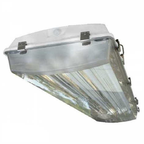 4-Lamp T8 Vapor Tight Fluorescent Wet Location High Bay Fixture