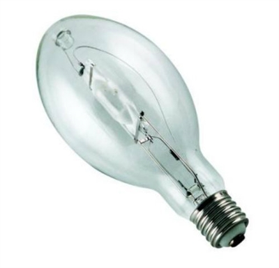 1500W Clear Metal Halide Mogul Base 4200K Lamp