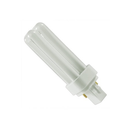 18 Watt 2-Pin Double Twin Tube 827 Color Temperature Plugin CFL Lamp