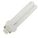 13 Watt 4-Pin Double Twin Tube 827 Color Temperature Plugin CFL Lamp
