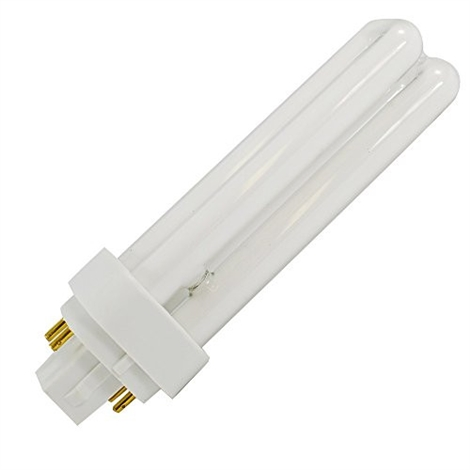 26 Watt 4-Pin Double Twin Tube 841 Color Temperature Plugin CFL