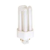 18 Watt 4-Pin Triple Twin Tube 827 Color Temperature Plugin CFL