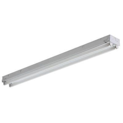 "Howard FSB40232ASEMV 48"" 2-Lamp T8 Fluorescent Strip Fixture"