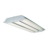 Howard Lighting HFA3E654APSMV000000I 6-Lamp T5 High Output Curved Profile Fluorescent High Bay