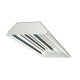 Howard Lighting HFC1E854APSMV000000I 8 Lamp T5 High Output Flat Profile Fluorescent High Bay