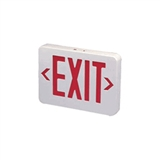 LED Red EXIT Sign with Battery Backup