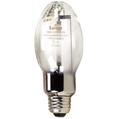 70W LU70/MED High Pressure Sodium Medium Replacement Lamp
