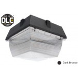 NaturaLED LED-FXCCM40/50K/DB 40 Watt Canopy Fixture DLC Listed 120-277V 5000K