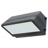 NaturaLED LED-FXCWP40/50K/DB 7097 40 Watt Cutoff Wall Pack Fixture 100W HID Equivalent DLC Listed 5000K