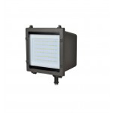 NaturaLED LED-FXFDL58/50K/DB-KNC 58 Watt LED Flood Light Fixture DLC Qualified 5000K 120-277V