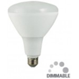 NaturaLED 5786 LED16BR40/100L/930 16 Watt BR40 High Output Dimmable LED Bulb 90CRI 3000K