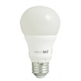 NaturaLED LED6A19/50L/40K 6 Watt LED A19 Bulb Dimmable Lamp 5807 4000K