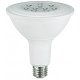 NaturaLED LHO-13.5PAR38/112L/FL/50K 5795 13.5 Watt PAR38 LED High Efficiency Dimmable Flood Lamp 5000K