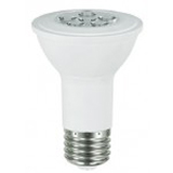 NaturaLED LHO-7.5PAR20/54L/FL/30K 5787 7.5 Watt PAR20 LED High Efficiency Dimmable Flood Lamp 3000K