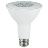 NaturaLED LHO-9.5PAR30L/75L/FL/40K 5791 9.5 Watt PAR30 LED High Efficiency Dimmable Flood Lamp 4000K