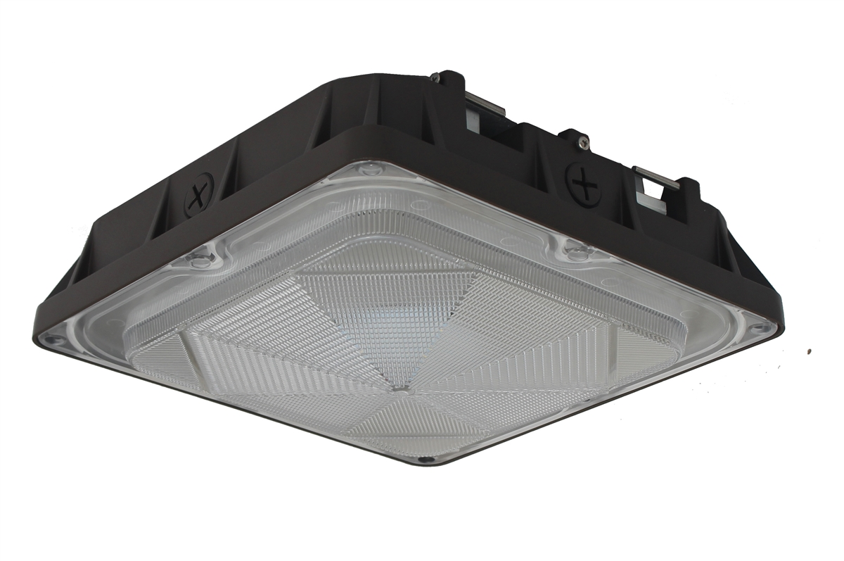 LED Canopy light fixture 80 watts  sc 1 th 183 & Canopy light fixture 80 watts