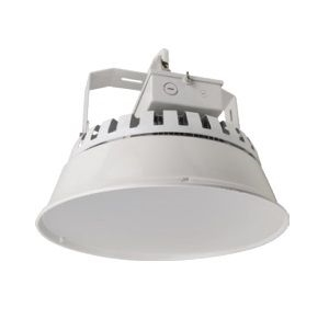 NaturaLED P10156 CVR-16HBR/LS/WH Skirt with Diffuser for Round High or Low Bay Lighting Fixtures