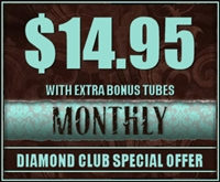 Diamond Club 1 Month Membership With Extra Tube