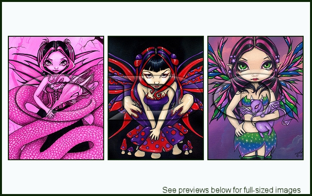 Jasmine Becket-Griffith Package 10