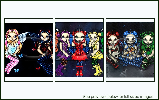 Jasmine Becket-Griffith Package 109