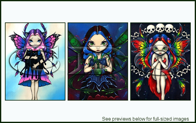 Jasmine Becket-Griffith Package 110