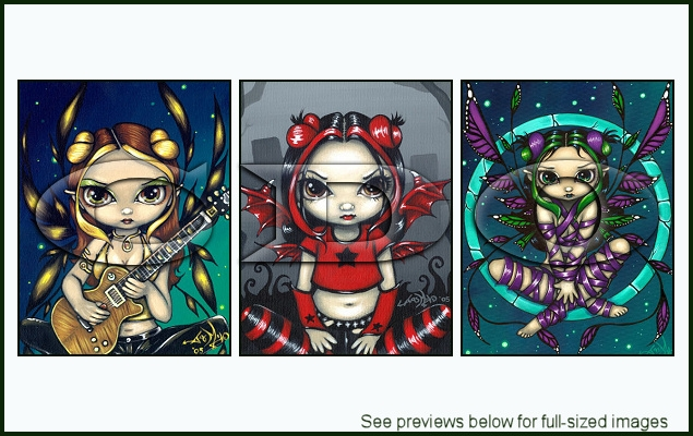 Jasmine Becket-Griffith Package 116