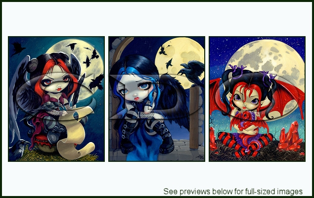 Jasmine Becket-Griffith Package 127