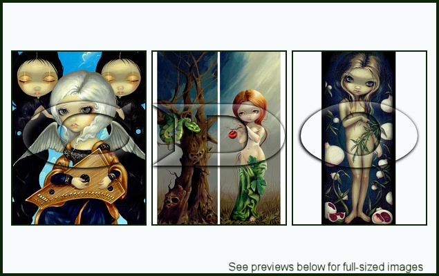 Jasmine Becket-Griffith Package 141