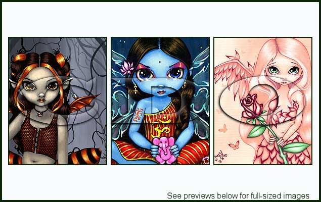 Jasmine Becket-Griffith Package 17