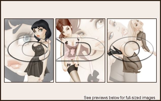 PinUp Toons Package 251
