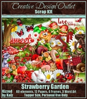 ScrapKBK_StrawberryGarden